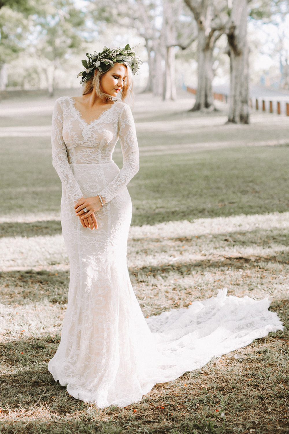 Sienna Bridal Gown Timeless Classic Collection | Goddess By Nature