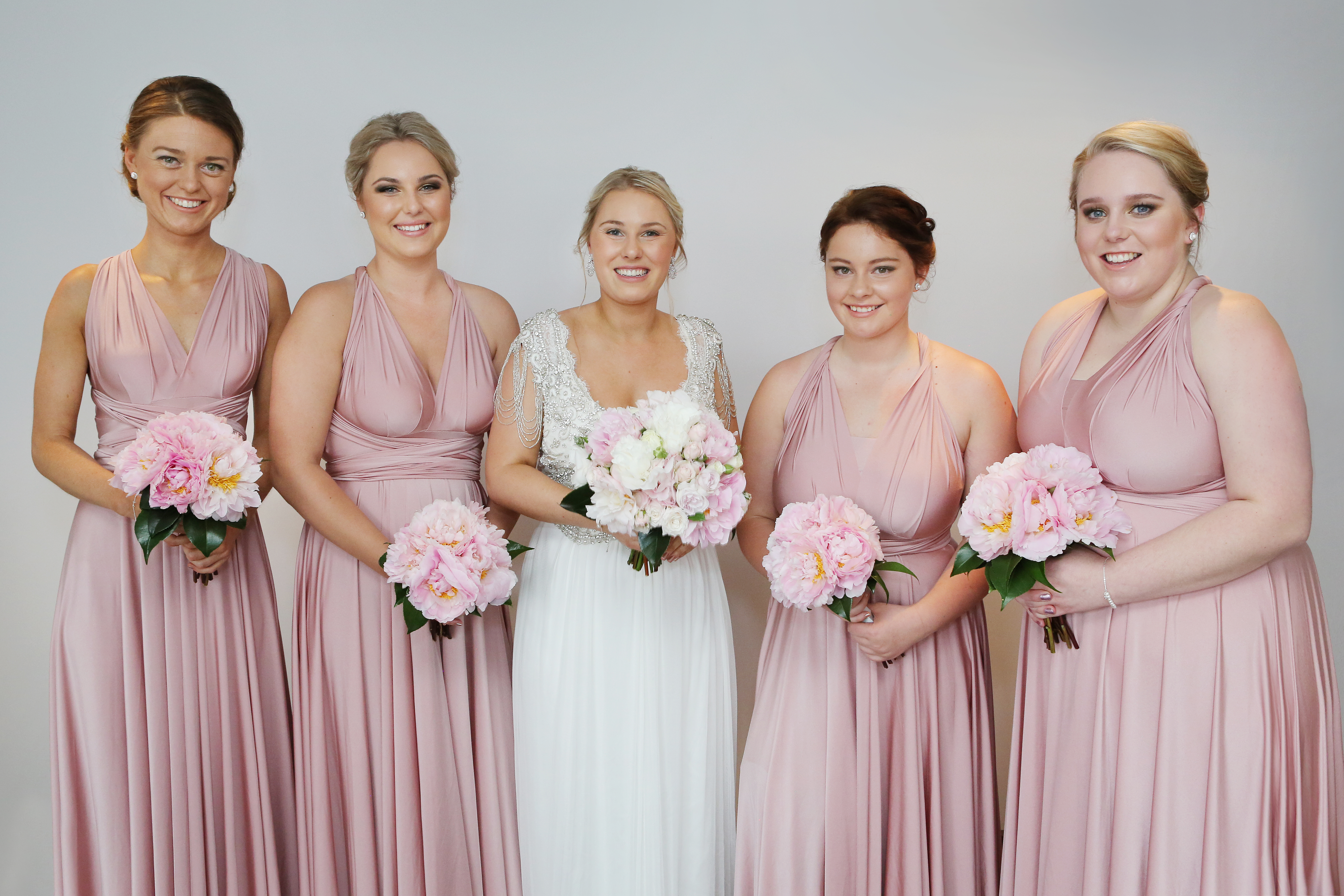 Goddess by nature australian made bridesmaids and wedding dresses i purchased four of the goddess by nature signature multiway ballgowns in the dust me pink color for my wedding in november 2016 your gownsdresses are ombrellifo Images