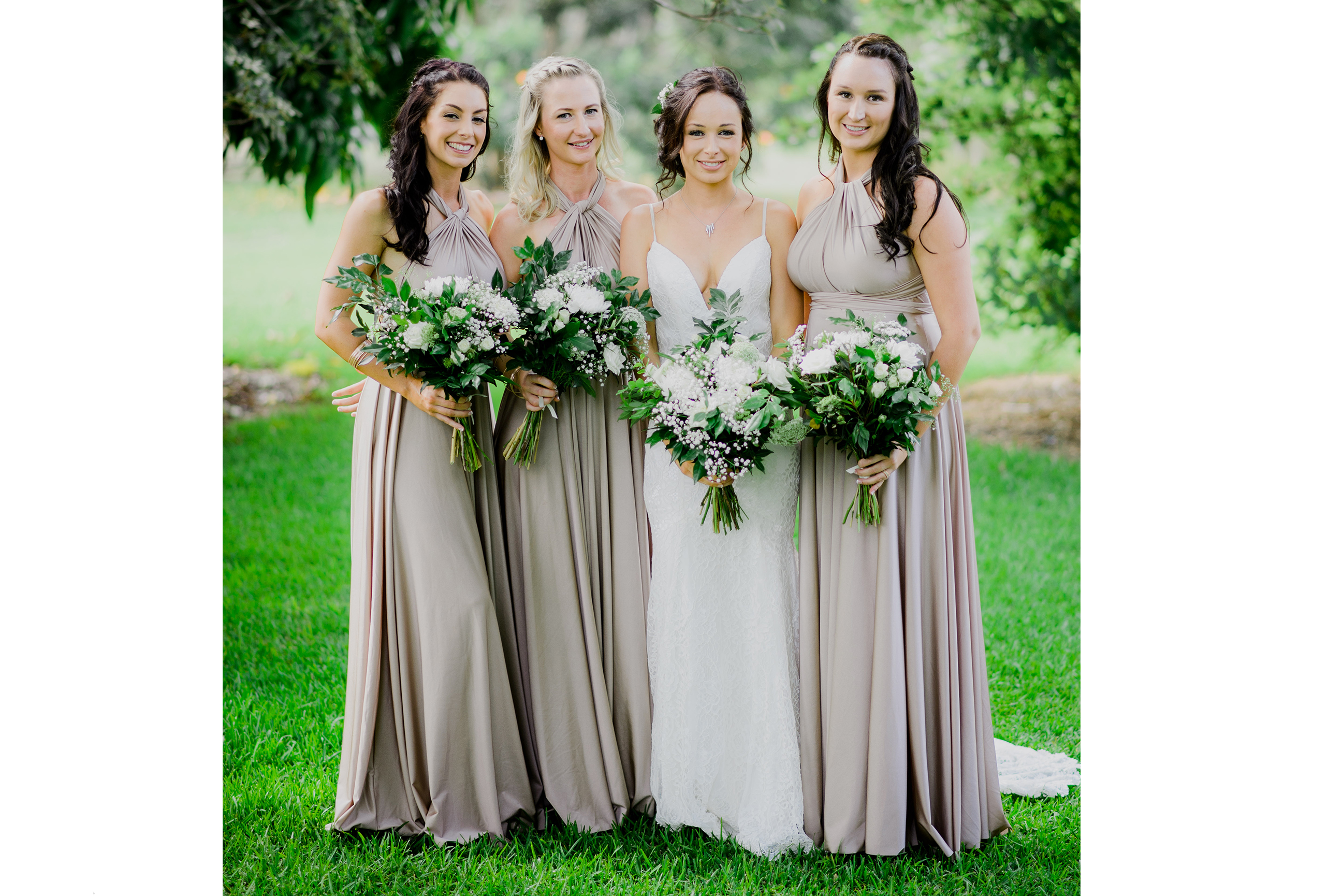 Goddess by nature australian made bridesmaids and wedding dresses so helpful throughout the entire process of choosing my bridesmaids dresses all the way through to post wedding their support assistance and beautiful ombrellifo Choice Image