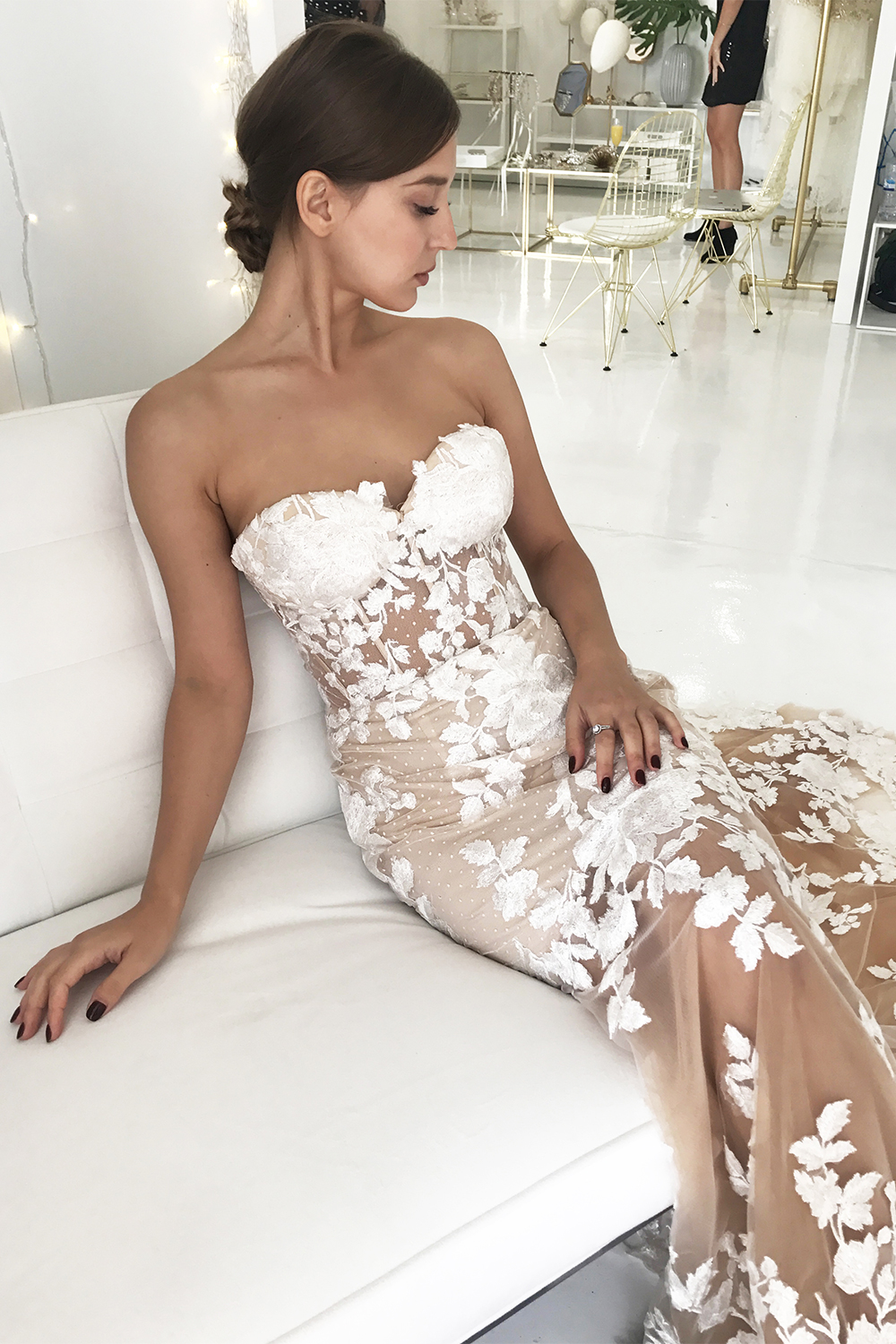 Chloe Bridal Gown Exclusive Luxe Collection | Goddess By Nature