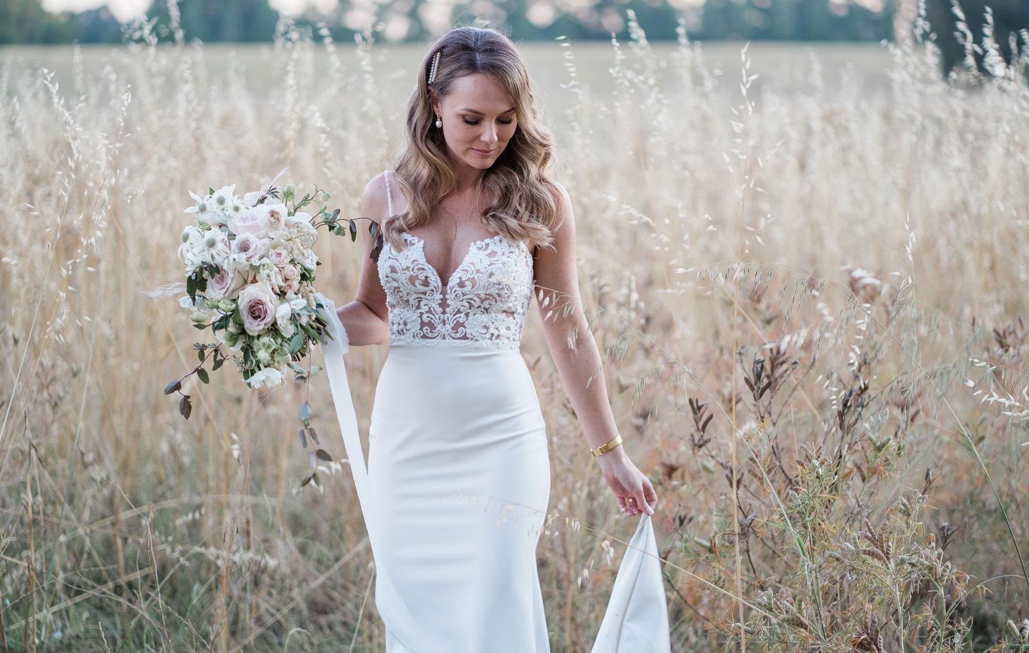 41 Brides Wearing Off The Shoulder Wedding Dresses Martha